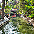 San Antonio River Walk In Spring by Tod and Cynthia Grubbs