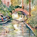 San Antonio Riverwalk by Marilyn Smith