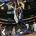 San Antonio Spurs V Utah Jazz by Melissa Majchrzak