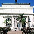 San Buenaventura City Hall Building California by Wernher Krutein