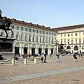 San Carlo Square In Turin by Valentino Visentini
