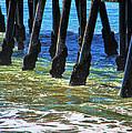 San Clemente Pier by Mariola Bitner