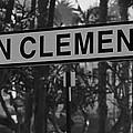 San Clemente Station Sign by Richard Cheski