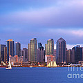 San Diego At Sunset by Rima Biswas