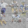 San Diego Chargers Legends by Joe Hamilton