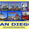 San Diego Composite by Michael Moore