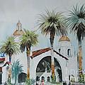 San Diego by P Anthony Visco