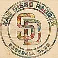 San Diego Padres Logo Art by Florian Rodarte