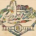San Diego Padres Memorabilia by Florian Rodarte