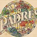 San Diego Padres Poster Art by Florian Rodarte