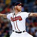 San Diego Padres V Atlanta Braves by Mike Zarrilli