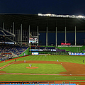 San Diego Padres V Miami Marlins by Mike Ehrmann