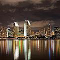 San Diego Skyline 1 by Lee Kirchhevel
