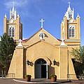 San Felipe Church - Old Town Albuquerque   by Mike McGlothlen