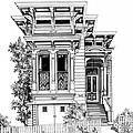 San Fracisco Victorian2 by Mary Palmer