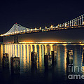 San Francisco Bay Bridge Illuminated by Jennifer Ramirez