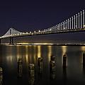 San Francisco Bay Bridge by Kevin L Cole