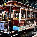 San Francisco Cable Car Painting by Marvin Blaine