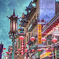 San Francisco Chinatown by Juli Scalzi