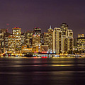San Francisco City At Night by Pierre Leclerc Photography