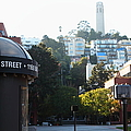 San Francisco Coit Tower At Levis Plaza 5d26212 by Wingsdomain Art and Photography