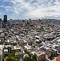 San Francisco Daytime Panoramic by Adam Romanowicz