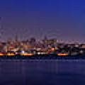 San Francisco Dusk Panorama by Jason Chu