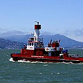 San Francisco Fire Department Fire Boat by Syl Pauley