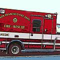 San Francisco Fire Dept. Medic Vehicle by Samuel Sheats