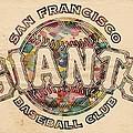 San Francisco Giants Poster Vintage by Florian Rodarte