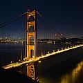 San Francisco Golden Gate Bridge At Blue Hour by Jit Lim