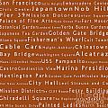 San Francisco In Words Toffee by Sabine Jacobs