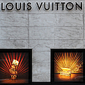 San Francisco Louis Vuitton Storefront - 5d20546-2 by Wingsdomain Art and Photography