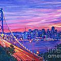 San Francisco Nights by David Lloyd Glover