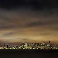 San Francisco Nightscape by Gej Jones