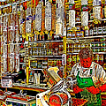 San Francisco North Beach Deli 20130505v2 Square by Wingsdomain Art and Photography