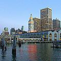 San Francisco Pier by Caroline Stella