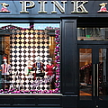 San Francisco Pink Storefront - 5d20565 by Wingsdomain Art and Photography