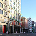 San Francisco Stockton Street At Union Square - 5d20564 by Wingsdomain Art and Photography