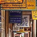 San Francisco Street Shops by Diana Powell