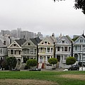 San Francisco - The Painted Ladies I by Christiane Schulze Art And Photography