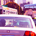 San Francisco Traffic Jam by Artist and Photographer Laura Wrede