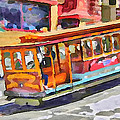 San Francisco Trams 5 by Yury Malkov