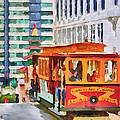San Francisco Trams 6 by Yury Malkov