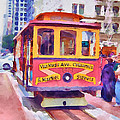 San Francisco Trams 7 by Yury Malkov
