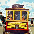 San Francisco Trolley by David Wagner