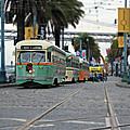 San Francisco Trolleys by Steve Natale