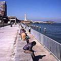 San Francisco Waterfront 1975 by Lee Santa
