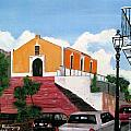 San German Chapel by Luis F Rodriguez