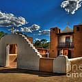 San Geronimo Church Taos Pueblo by K D Graves